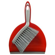 Mini set spazzola con paletta