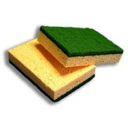 Cell 80 spugna abrasiva professionale con cellulosa