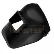 Schermo a casco ribaltabile per saldatore